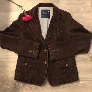 American Eagle brown corduroy jacket